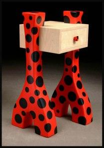 Slingshot Lady Telephone Table
