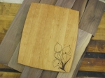 calla lilly cutting board