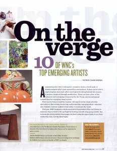 WNC Magazine On the Verge June 2010